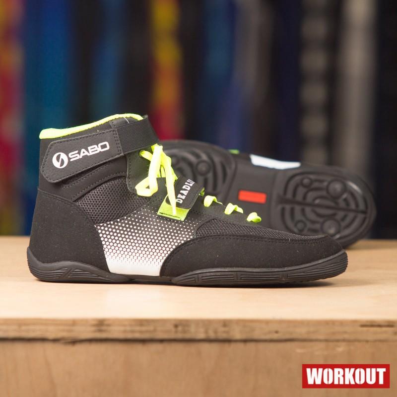 Pánské boty Sabo Deadlift Lime