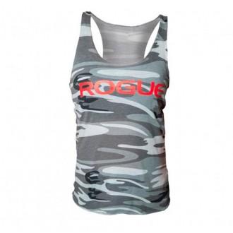 Dámský top Rogue Basic - grey camo