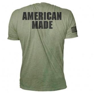 Pánské tričko Rogue American Made green