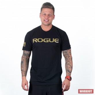 Pánské tričko Rogue Basic - gold