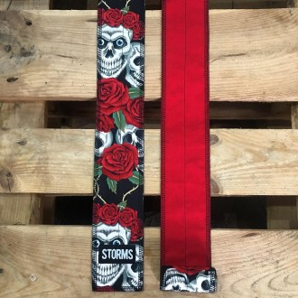 STORMS WristWraps Rose Skull