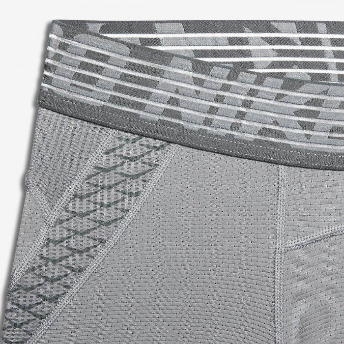 Pánské kompresní šortky Nike Pro Hypercool SHORT - šedivé ... 65daca742c