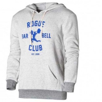 Pánská mikina Rogue Barbell Club 2.0 white