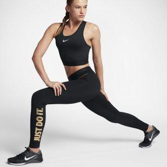 Dámské tréninkové legíny Nike black/gold
