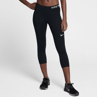 Dámské tréninkové capri kalhoty černé