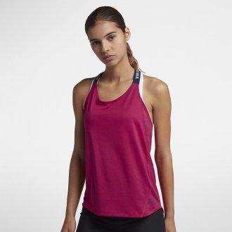 Dámský tréninkový top Nike cherry