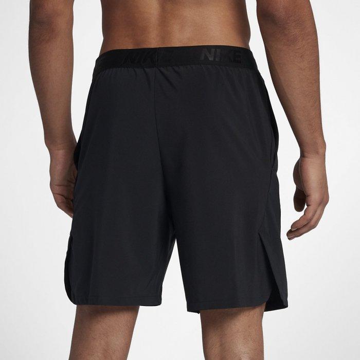 Pánské šortky Nike Flex černé - BotyObleceni.cz f4b51306f2