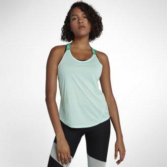 Dámský tréninkový top elastica Nike light green