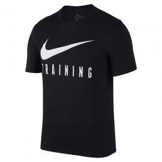 Pánské fitness tričko Nike TRAINING black AH6503-010