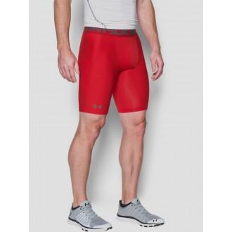 Pánské kompresní šortky Under Armour - červené