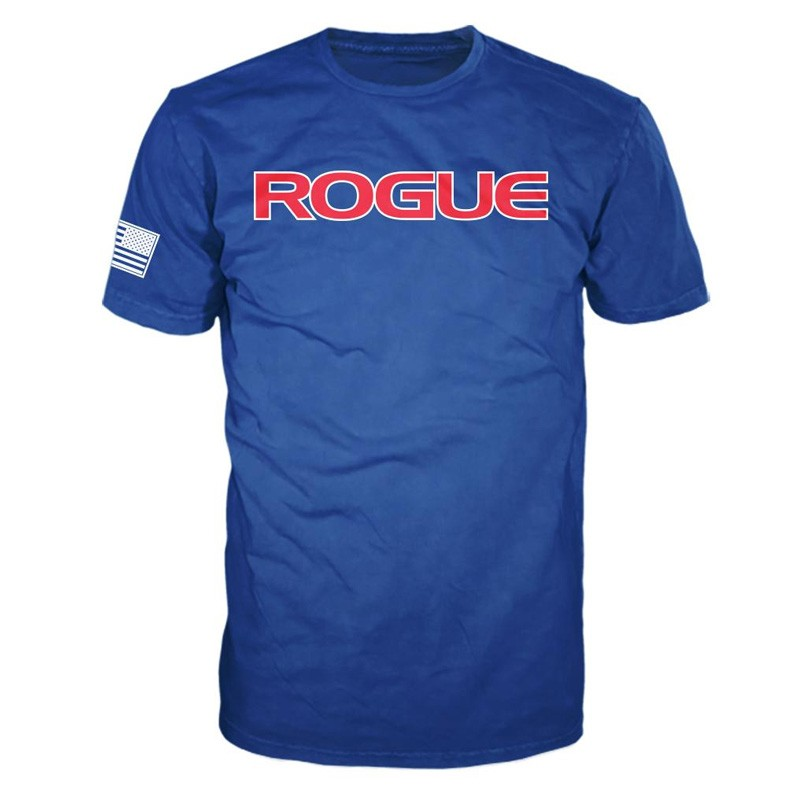 Pánské tričko Rogue American Made - modré