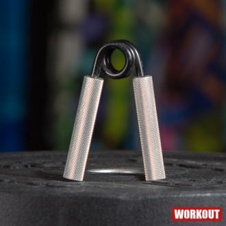 Ocelové posilovací kleště prstů a zápěstí odpor 120 kg/280lb