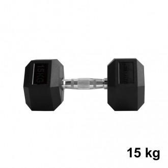 Jednoručka Hexhead Dumbbell Thornfit - 15 kg