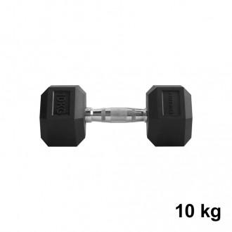 Jednoručka Hexhead Dumbbell Thornfit - 10 kg