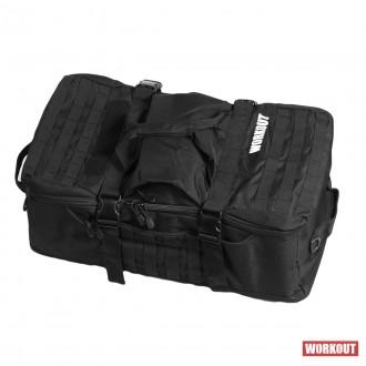 Taška přes rameno / batoh WORKOUT - černá