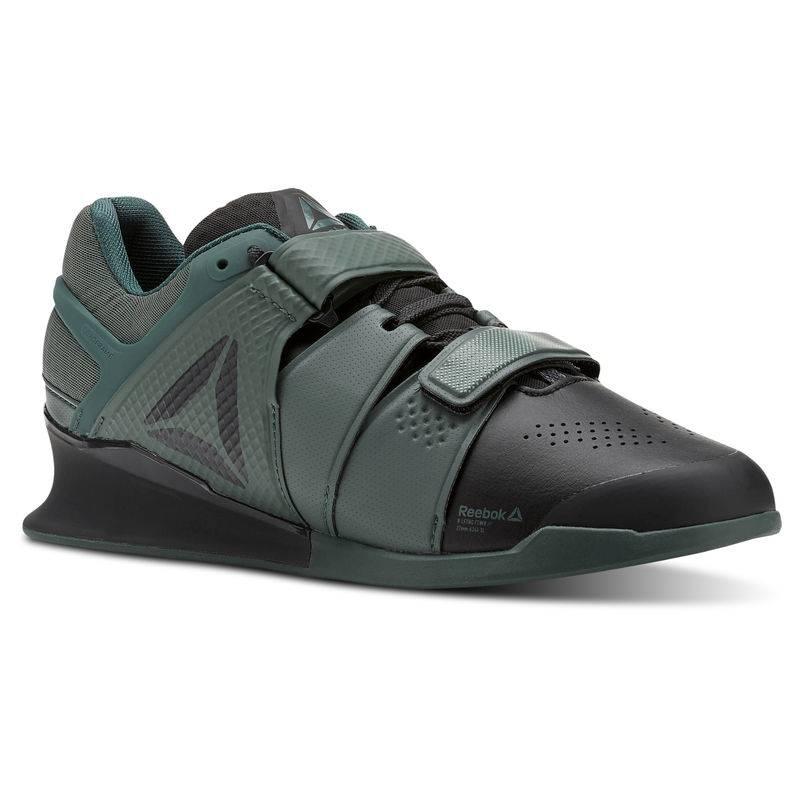 Pánské boty Reebok LEGACY LIFTER - CN4734 green/black