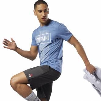 Pánské tričko Reebok CrossFit Burnout SS Tee - Solid - D94881 ... c189acb0b7