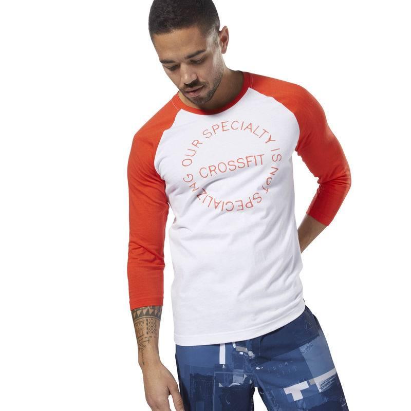 Pánské tričko CrossFit Raglan - DH3701