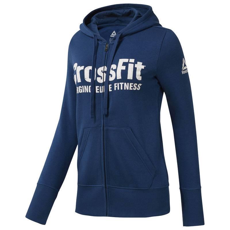 Dámská mikina Reebok CrossFit FULL ZIP HOODY - DH3716 - BotyObleceni.cz 5e0e85aecd1