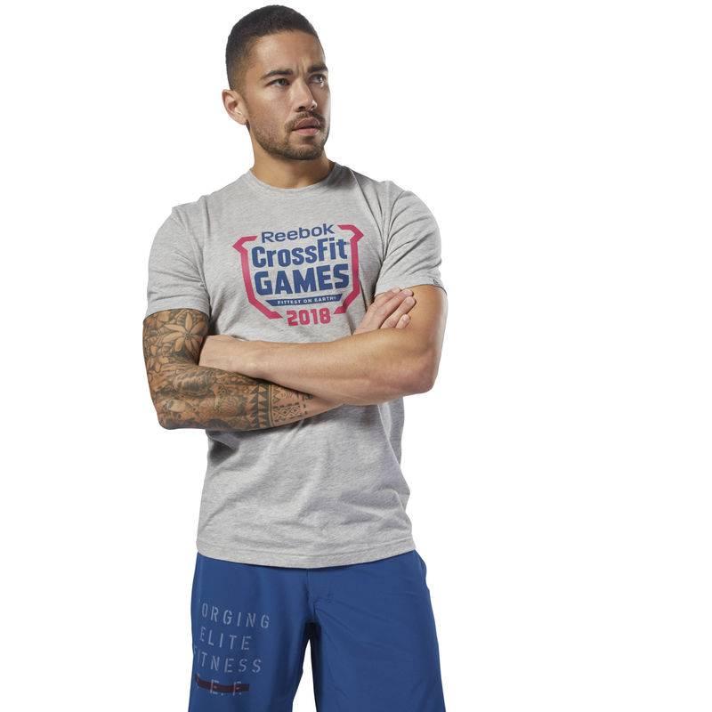 Pánské tričko CrossFit Games Crest Tee - DN2393