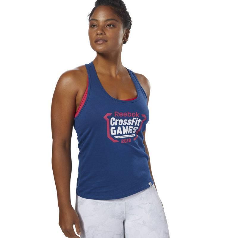Dámský top CrossFit Games Crest Tank - DN2414