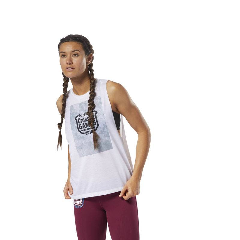Dámský top CrossFit Games Stone Camo - DN2416