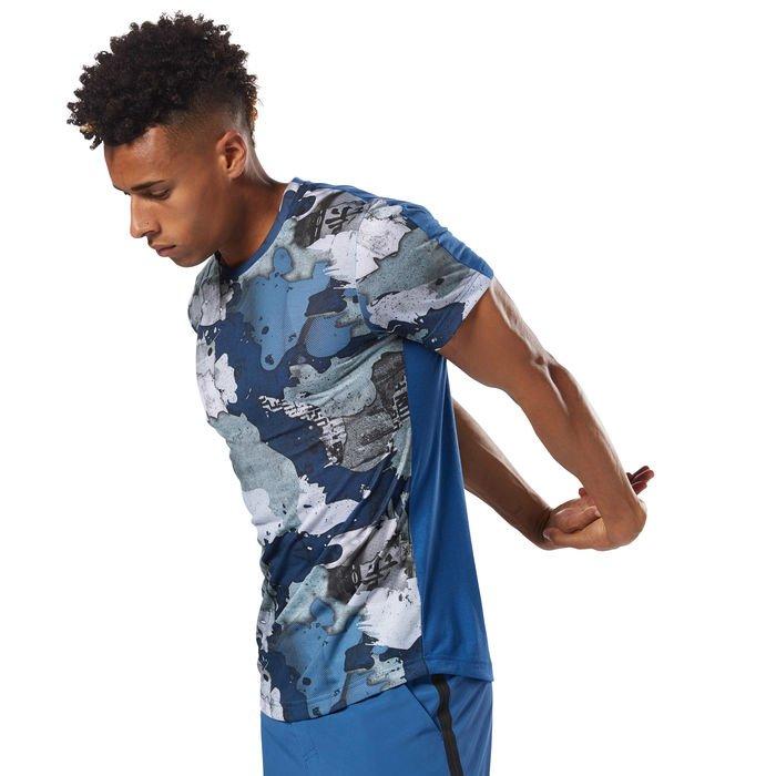 Pánské tričko SpeedWick Printed Tee - DN6053