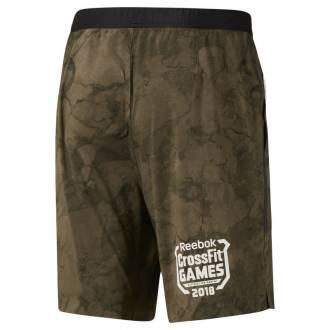 Pánské šortky Reebok CrossFit Games Speed Short Stone - DN6178