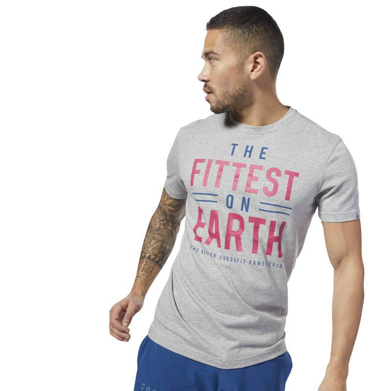 Pánské tričko CrossFit Games Fittest on Earth - DN2390