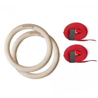 Gymnastické kruhy ThornFit - průmer 32 cm