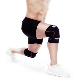 Bandáž kolene Spartan Race 5 mm - černá/červená