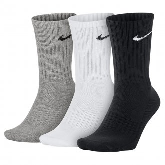 Ponožky U NK V CUSH CREW - 3P VALUE