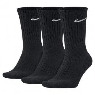 939ba8d8f9d Ponožky U NK V CUSH CREW - 3P VALUE black