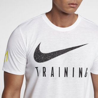 Pánské tréninkové tričko Nike Training GAMES - bílé