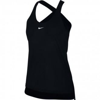 Dámský top Nike Elastika Mesh Tank černý 930395-010