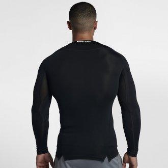 Pánské kompresní triko s dlouhým rukávem Nike černé 838077-010
