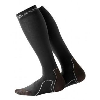 Pánské kompresní podkolenky SKINS Essentials Mens Recovery Comp Socks Black