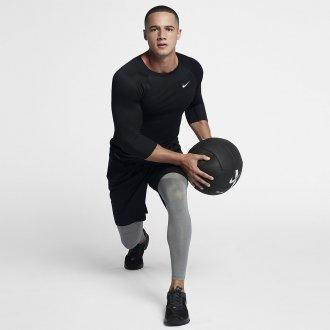 Pánské tréninkové legíny Nike šedé 838067-091