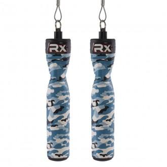 Rx Jump Rope - rukojeť (pár) - modré camo
