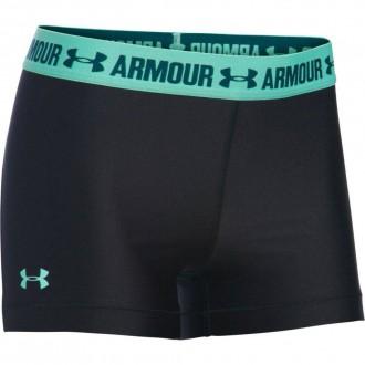 Dámské kompresní šortky HG Under Armour red/grey