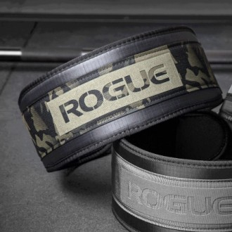 Vzpěračský opasek Rogue USA Nylon Lifting Belt - camo