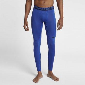 Pánské tréninkové legíny Nike - modré