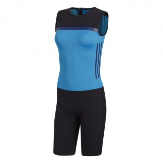 Dámský trikot Crazy Power suit women black/blue