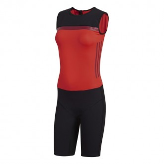 Dámský trikot Crazy Power suit women black/red