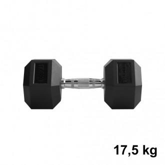 Jednoručka Hexhead Dumbbell Thornfit - 17,5 kg
