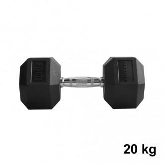 Jednoručka Hexhead Dumbbell Thornfit - 20 kg