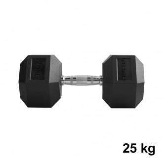 Jednoručka Hexhead Dumbbell Thornfit - 25 kg
