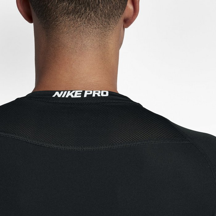 Pánský tréninkový top Nike s krátkým rukávem - Nike Pro black