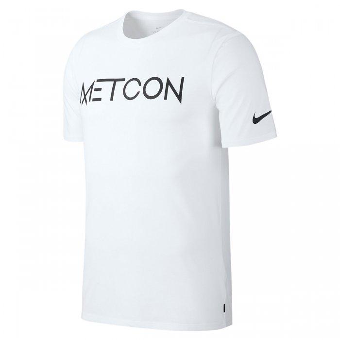 9864e98b9161 Pánské tričko Nike Metcon - bílé - BotyObleceni.cz