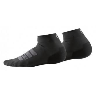 Ponožky Skins Seamless Performance Unisex Socks Quarter Length Black